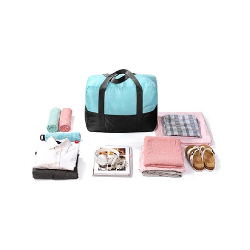 80c799fb781 Pack n Fold Foldable Lightweight Water-resistant Duffel Bag Blue   Duffle  Bags - Best Buy Canada