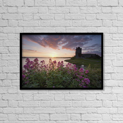 "Printscapes Wall Art: 18"" x 12"" Canvas Print With Black Frame - Historic & Vintage by Gareth McCormack"