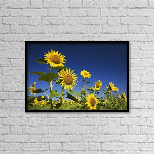 "Printscapes Wall Art: 18"" x 12"" Canvas Print With Black Frame - Laval, Quebec, Canada by Perry Mastrovito"