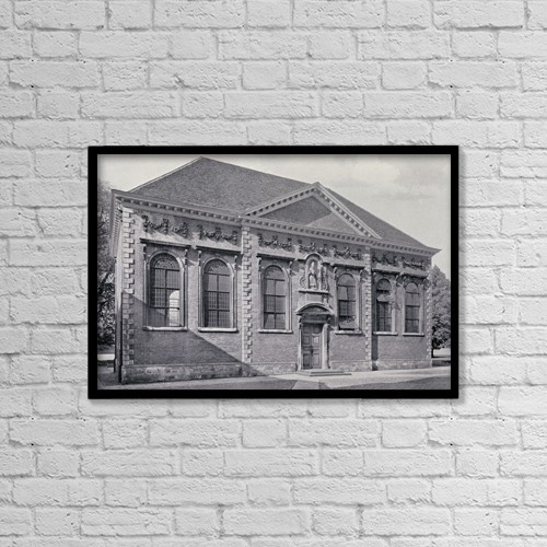 """Printscapes Wall Art: 18"""" x 12"""" Canvas Print With Black Frame - Education by Ken Welsh"""
