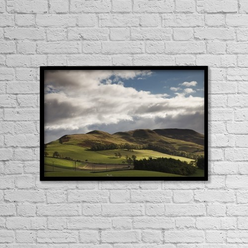 """Printscapes Wall Art: 18"""" x 12"""" Canvas Print With Black Frame - Travel by John Short"""