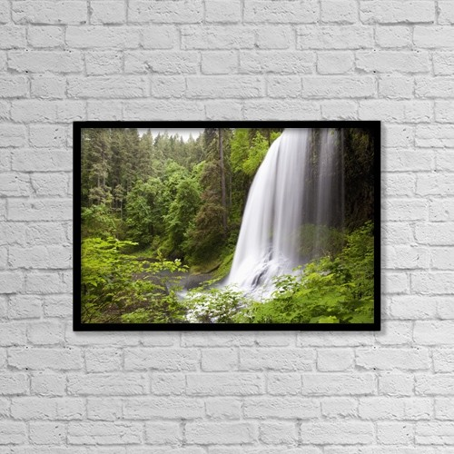 """Printscapes Wall Art: 18"""" x 12"""" Canvas Print With Black Frame - Nature by Craig Tuttle"""