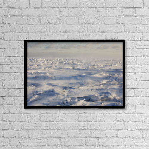 """Printscapes Wall Art: 18"""" x 12"""" Canvas Print With Black Frame - Minnesota, United States Of America by Susan Dykstra"""