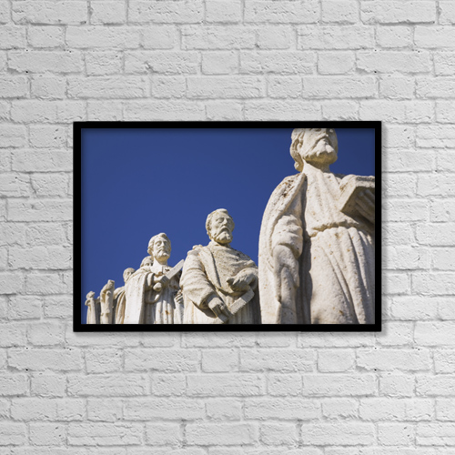 "Printscapes Wall Art: 18"" x 12"" Canvas Print With Black Frame - Christian Faith by Perry Mastrovito"