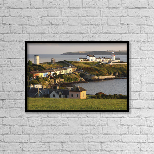 "Printscapes Wall Art: 18"" x 12"" Canvas Print With Black Frame - Travel by Trish Punch"