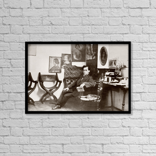 "Printscapes Wall Art: 18"" x 12"" Canvas Print With Black Frame - Anselmo Miguel Nieto, 1881 - 1964 by Ken Welsh"
