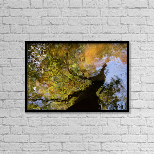 "Printscapes Wall Art: 18"" x 12"" Canvas Print With Black Frame - Travel by Joanne Baldaia"