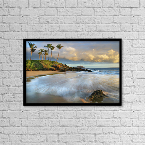 "Printscapes Wall Art: 18"" x 12"" Canvas Print With Black Frame - Scenic by M Swiet Productions"