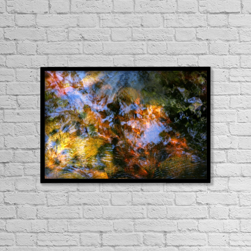 "Printscapes Wall Art: 18"" x 12"" Canvas Print With Black Frame - Sports and Recreation by Joanne Baldaia"