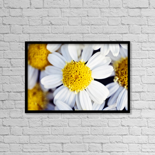 "Printscapes Wall Art: 18"" x 12"" Canvas Print With Black Frame - Travel by Ray Laskowitz"