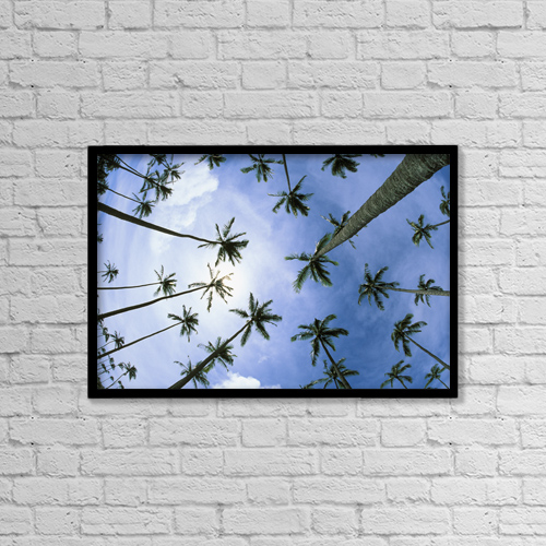 """Printscapes Wall Art: 18"""" x 12"""" Canvas Print With Black Frame - Scenic by Carl Shaneff"""