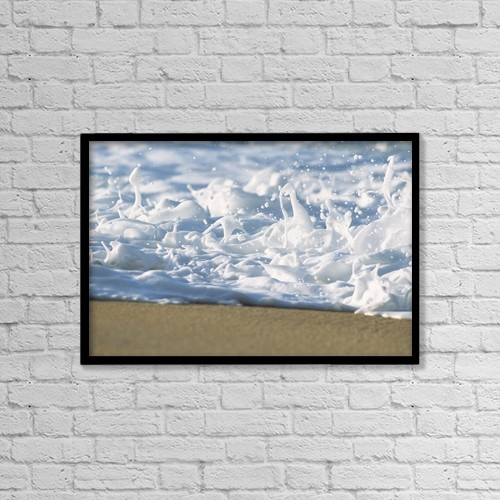 """Printscapes Wall Art: 18"""" x 12"""" Canvas Print With Black Frame - Travel by Vince Cavataio"""