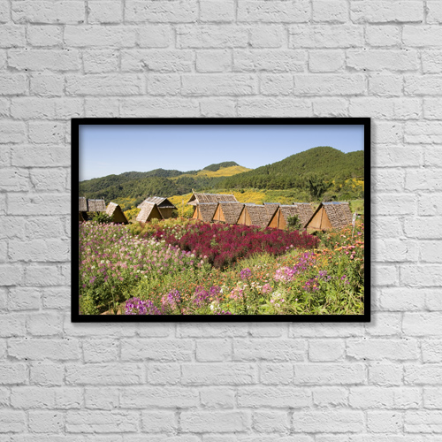 """Printscapes Wall Art: 18"""" x 12"""" Canvas Print With Black Frame - Scenic by Bill Brennan"""