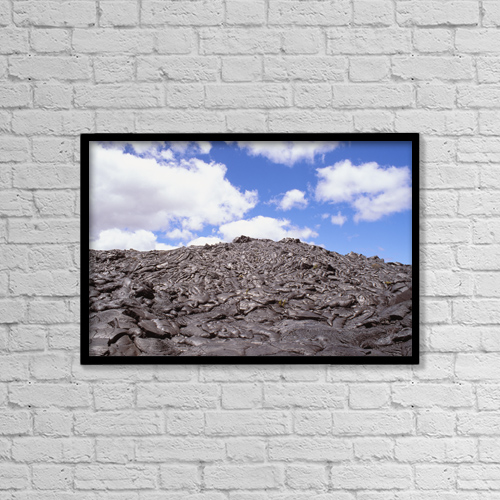 "Printscapes Wall Art: 18"" x 12"" Canvas Print With Black Frame - Nature by Peter French"