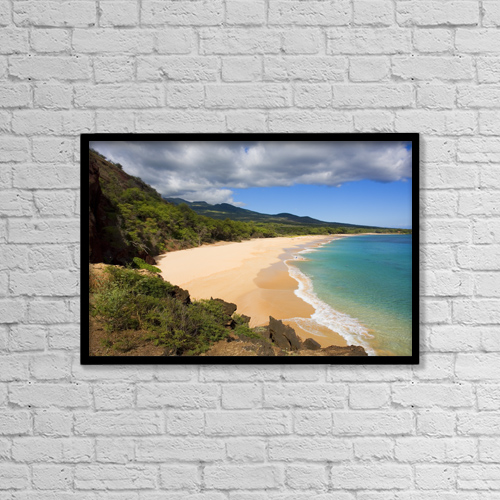 "Printscapes Wall Art: 18"" x 12"" Canvas Print With Black Frame - Scenic by Ron Dahlquist"