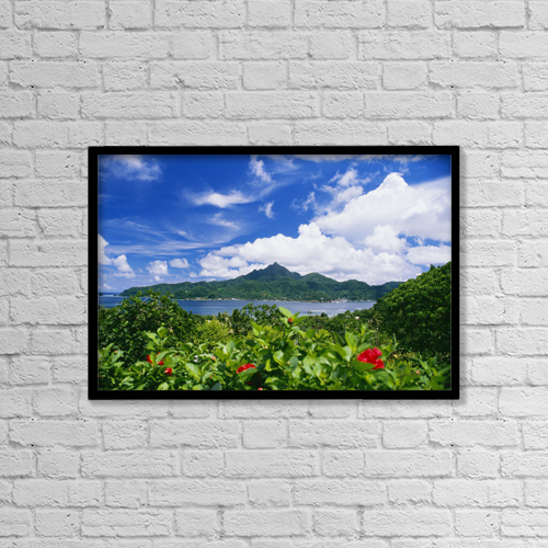 """Printscapes Wall Art: 18"""" x 12"""" Canvas Print With Black Frame - Scenic by Joe Carini"""