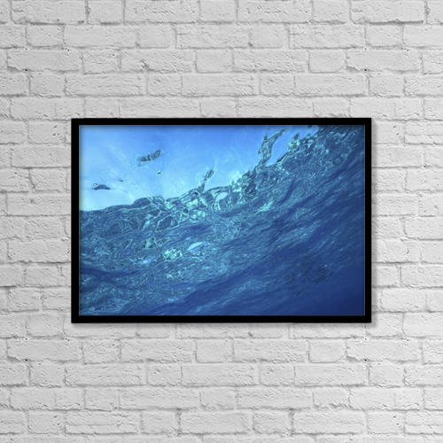 "Printscapes Wall Art: 18"" x 12"" Canvas Print With Black Frame - Sports and Recreation by Mary Van de Ven"