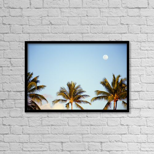 """Printscapes Wall Art: 18"""" x 12"""" Canvas Print With Black Frame - Scenic by Kyle Rothenborg"""