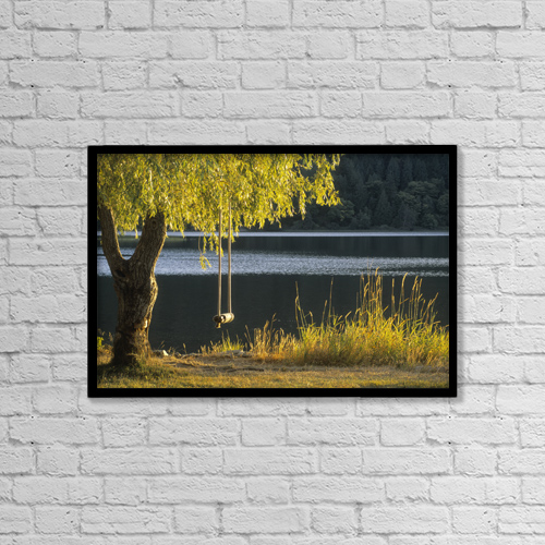 "Printscapes Wall Art: 18"" x 12"" Canvas Print With Black Frame - Fv3584, Natural Moments Photography by Darwin Wiggett"