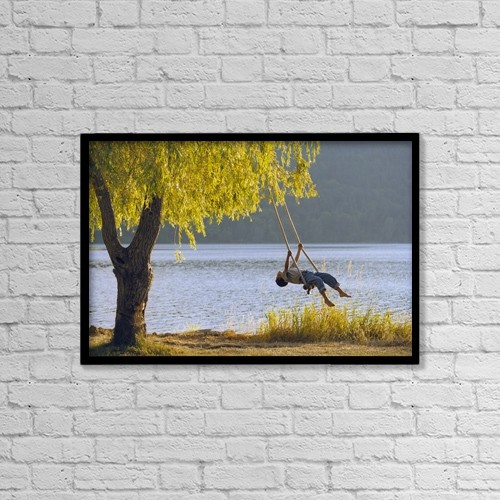 "Printscapes Wall Art: 18"" x 12"" Canvas Print With Black Frame - Fv3583, Natural Moments Photography by Anita Dammer"