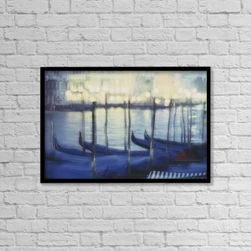 "Printscapes Wall Art: 18"" x 12"" Canvas Print With Black Frame - Fv2131, David Nunuk by David Nunuk"