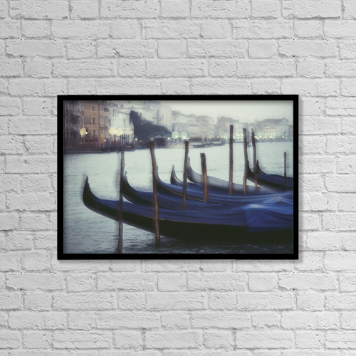 "Printscapes Wall Art: 18"" x 12"" Canvas Print With Black Frame - Fv2129, David Nunuk by David Nunuk"