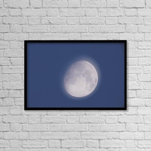 "Printscapes Wall Art: 18"" x 12"" Canvas Print With Black Frame - Fv2128, David Nunuk by David Nunuk"