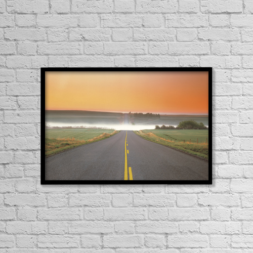 "Printscapes Wall Art: 18"" x 12"" Canvas Print With Black Frame - Fl5515, Darwin Wiggett by Darwin Wiggett"
