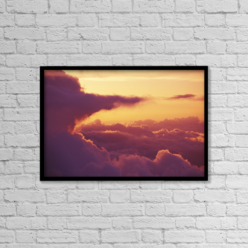 """Printscapes Wall Art: 18"""" x 12"""" Canvas Print With Black Frame - Nature by Ron Dahlquist"""