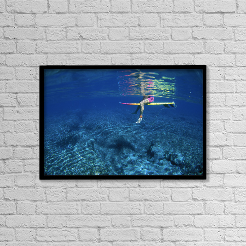 """Printscapes Wall Art: 18"""" x 12"""" Canvas Print With Black Frame - Sports and Recreation by Liysa Swart"""