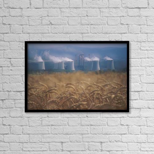 "Printscapes Wall Art: 18"" x 12"" Canvas Print With Black Frame - Fv2546, David Nunuk by David Nunuk"