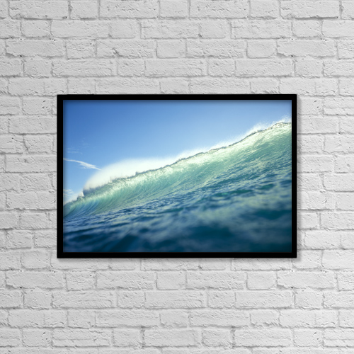 "Printscapes Wall Art: 18"" x 12"" Canvas Print With Black Frame - Other by Vince Cavataio"