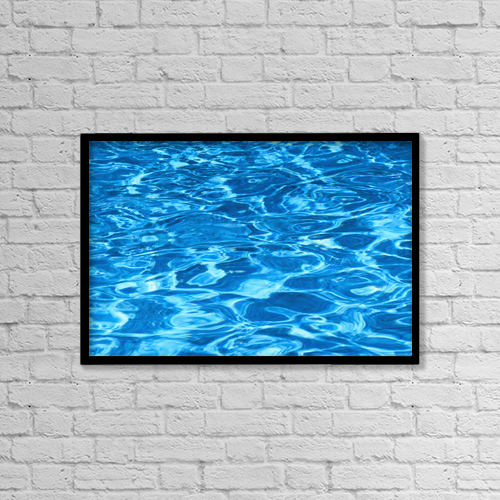 "Printscapes Wall Art: 18"" x 12"" Canvas Print With Black Frame - Other by Kyle Rothenborg"