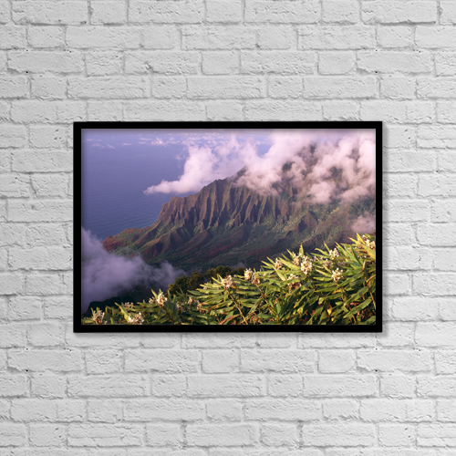 """Printscapes Wall Art: 18"""" x 12"""" Canvas Print With Black Frame - Nature by Carl Shaneff"""