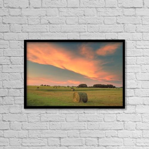 "Printscapes Wall Art: 18"" x 12"" Canvas Print With Black Frame - Fv0685, Darwin Wiggett by Darwin Wiggett"