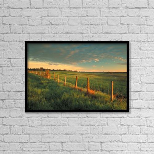 "Printscapes Wall Art: 18"" x 12"" Canvas Print With Black Frame - Fv0684, Darwin Wiggett by Darwin Wiggett"