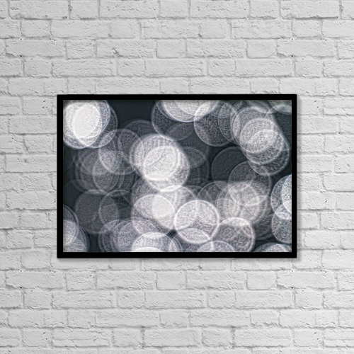 "Printscapes Wall Art: 18"" x 12"" Canvas Print With Black Frame - Creative Imagery by Robert Postma"