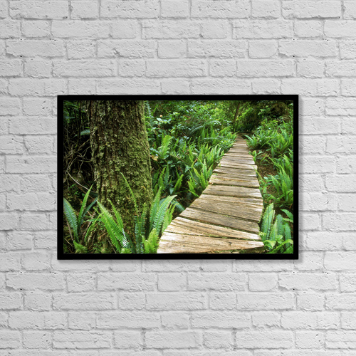 "Printscapes Wall Art: 18"" x 12"" Canvas Print With Black Frame - Objects by Mark Jurkovic"