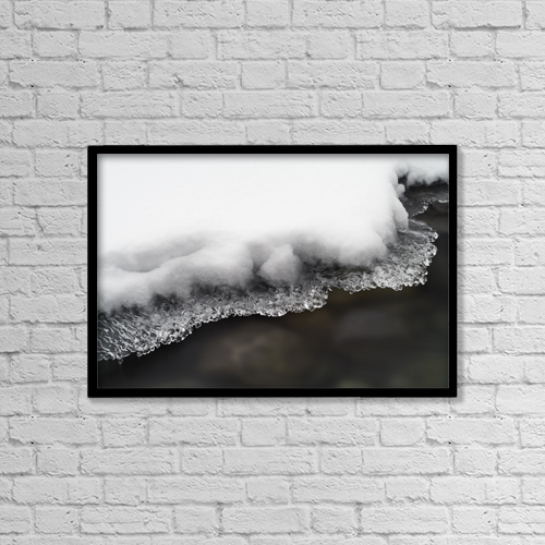 "Printscapes Wall Art: 18"" x 12"" Canvas Print With Black Frame - Other by Darwin Wiggett"