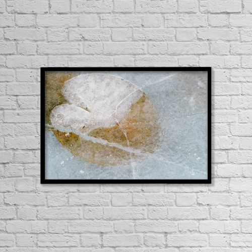 "Printscapes Wall Art: 18"" x 12"" Canvas Print With Black Frame - Objects by Darwin Wiggett"