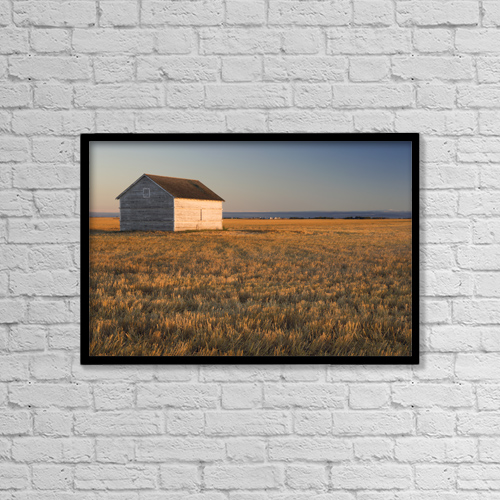 """Printscapes Wall Art: 18"""" x 12"""" Canvas Print With Black Frame - Scenic by Darwin Wiggett"""