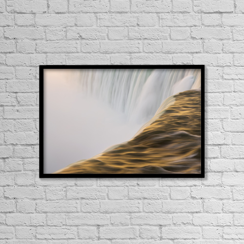 "Printscapes Wall Art: 18"" x 12"" Canvas Print With Black Frame - Creative Imagery by Darwin Wiggett"