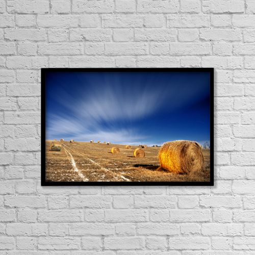"""Printscapes Wall Art: 18"""" x 12"""" Canvas Print With Black Frame - Objects by Darwin Wiggett"""
