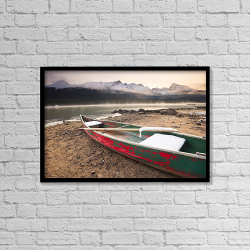 "Printscapes Wall Art: 18"" x 12"" Canvas Print With Black Frame - Scenic by Ken Gillespie"
