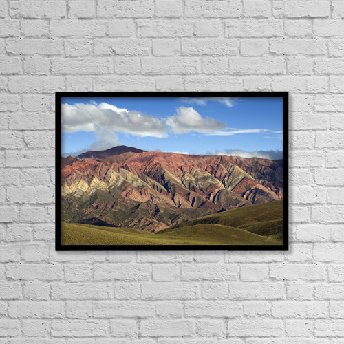 """Printscapes Wall Art: 18"""" x 12"""" Canvas Print With Black Frame - Scenic by Peter Van Rhijn"""
