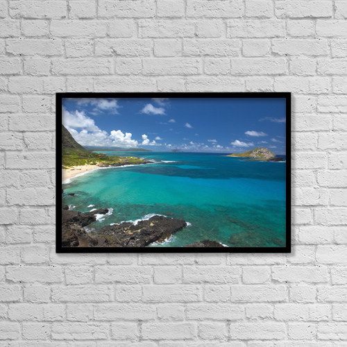"Printscapes Wall Art: 18"" x 12"" Canvas Print With Black Frame - by Tomas del Amo"