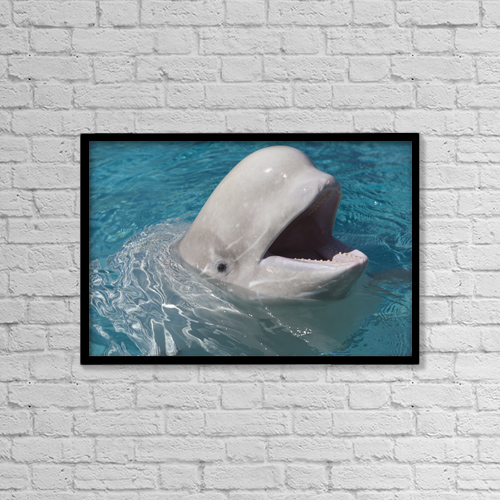 """Printscapes Wall Art: 18"""" x 12"""" Canvas Print With Black Frame - Travel by Darwin Wiggett"""