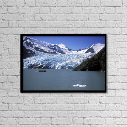 """Printscapes Wall Art: 18"""" x 12"""" Canvas Print With Black Frame - Nature by Jeff Schultz"""