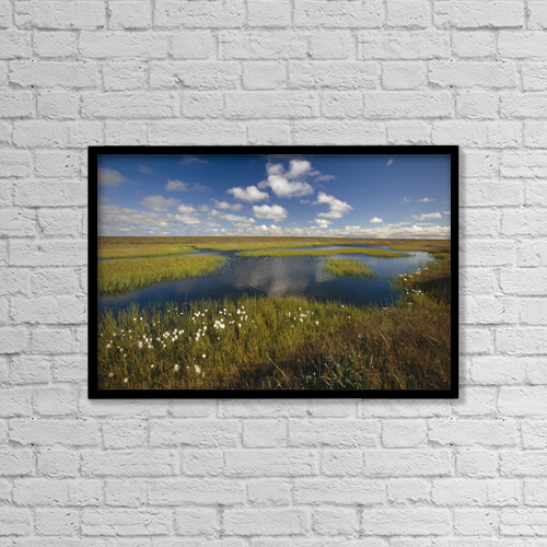 "Printscapes Wall Art: 18"" x 12"" Canvas Print With Black Frame - Scenic by Chris Arend"