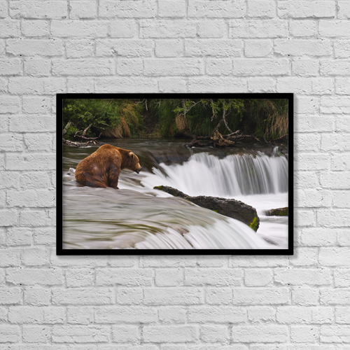 "Printscapes Wall Art: 18"" x 12"" Canvas Print With Black Frame - Sports and Recreation by Christopher S. Miller"